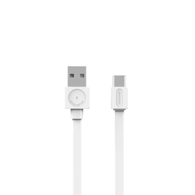 Кабел Allocacoc 10453WT, от USB(м) към USB-C(м), 1.5m, бял image