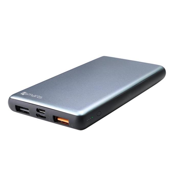 Външна батерия /power bank/ 4Smarts VoltHub, 10000mAh, 2.0A, USB Type A, USB Type C, тъмносива image
