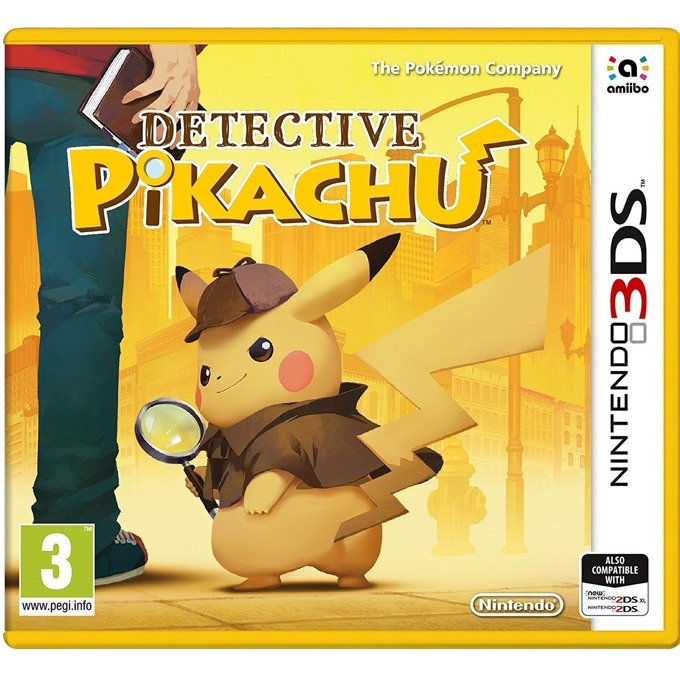 Игра за конзола Detective Pikachu, за Nintendo 3DS image