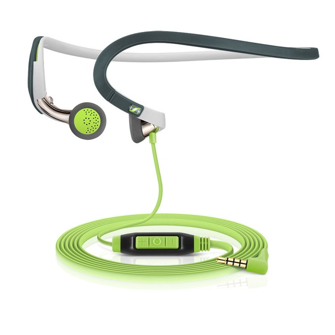Слушалки Sennheiser PMX 686G Sports, микрофон, 18Hz-20kНz честотен диапазон, 1.2 м кабел, зелени image
