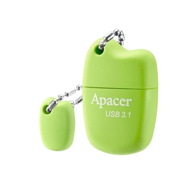 32GB USB Flash Drive, Apacer AH159, USB 3.1, зелен image
