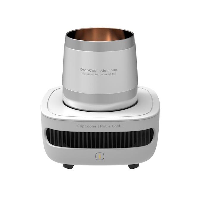 Чаша за охлаждане / затопляне Allocacoc CupCooler |Hot+Cold| 11042WT, съвместим с кенчета и бутилки, DC12V /3A, бяла image