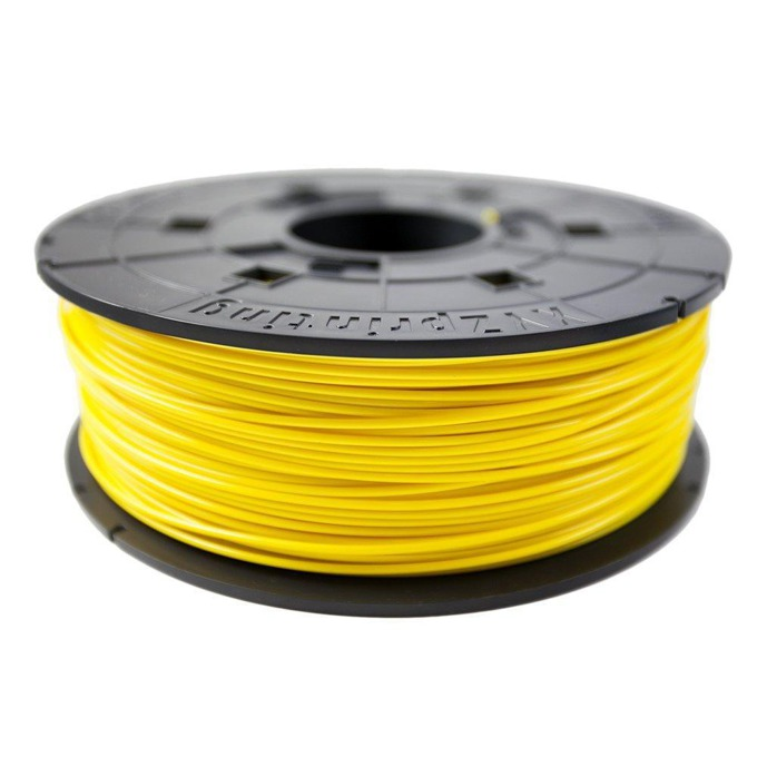 Консуматив за 3D принтер XYZprinting, ABS filament, 1.75mm, жълт, 600 g image