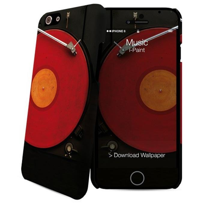 Протектор iPaint Music HC Case за iPhone 6/6s, поликарбонатов image