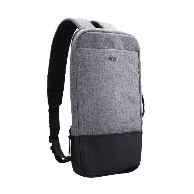 """Раница за лаптоп Acer Slim 3in1 Backpack, до 14"""" (35.6 cm), водоустойчива, сива image"""