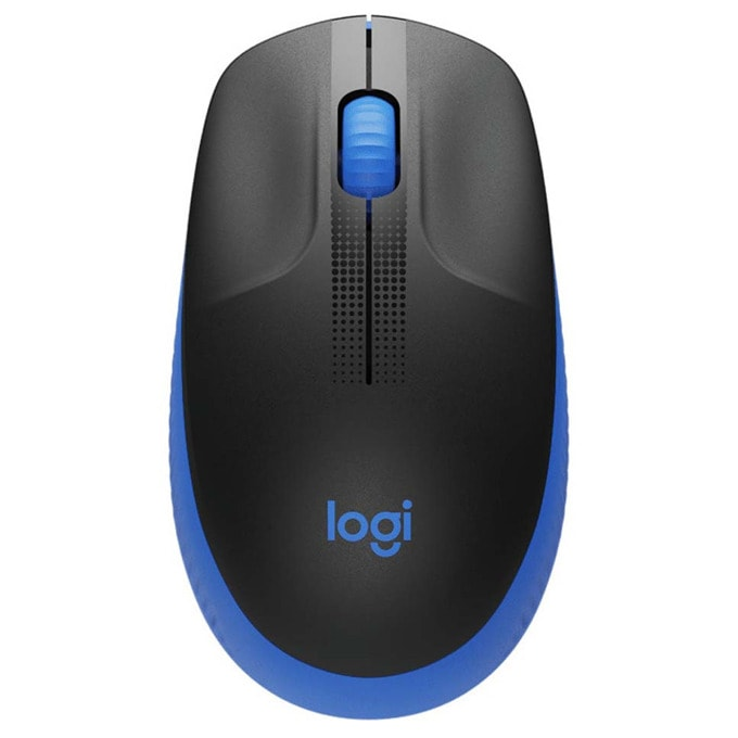 Мишка Logitech M190, оптична (1000dpi), безжична, USB, синя image