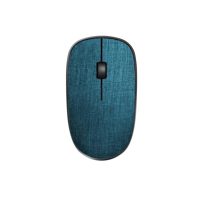 Мишка Rapoo 3510 Plus Blue, оптична(1000 dpi), безжична, USB, до 12 месеца живот на батерията, синя image
