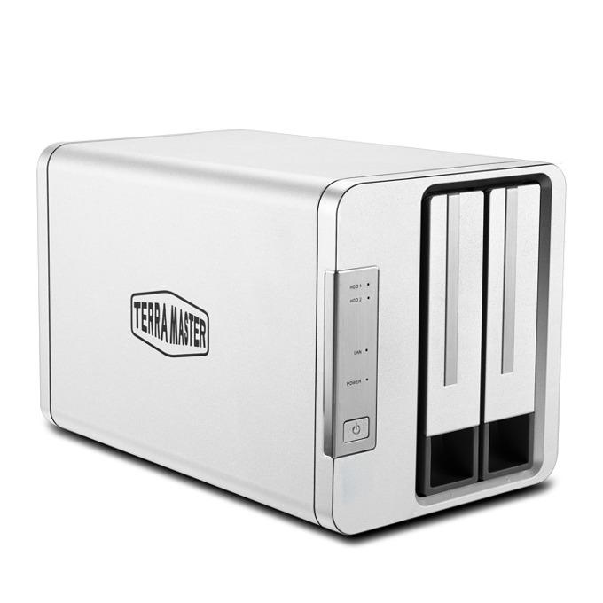 Мрежови диск (NAS) TerraMaster F2-210, четириядрен Realtek RTD1296 1.4 GHz, с 2 дискa Seagate NAS 4TB, 1GB, 1x 1GbE port, 2x USB 3.0 image