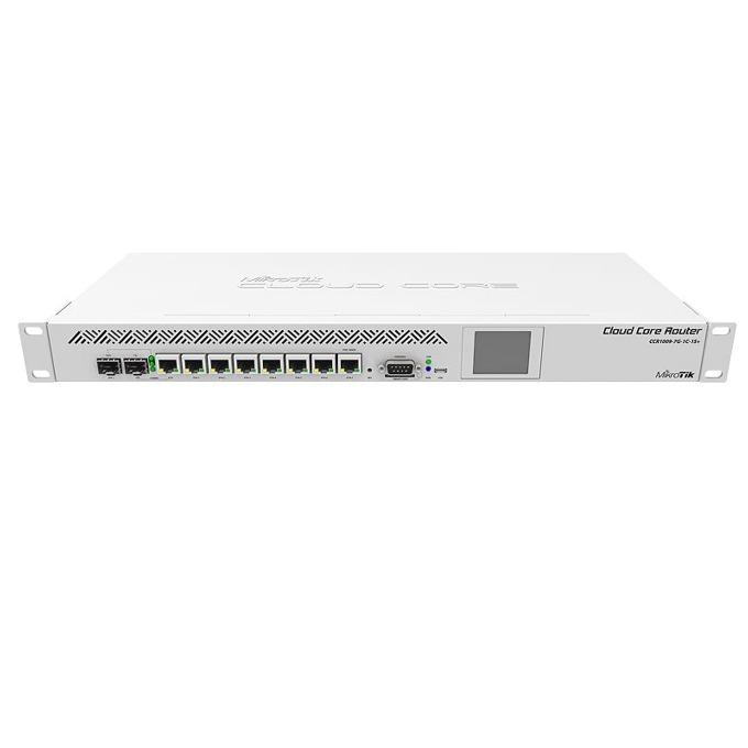 Рутер MikroТik CCR1009-7G-1C-1S+, 7x 10/100/1000, 1x SFP, 2GB RAM, 128MB Flash памет image