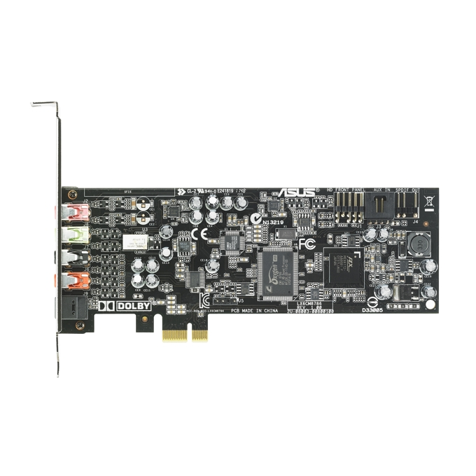 Asus Xonar DGX, 5.1, Digital S/PDIF Out, Dolby® Headphone, PCI-E image