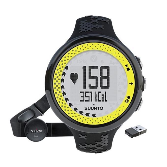 Смарт часовник Suunto M5, Bluetooth, GPS, водоустойчив до 30м, черен-лайм image