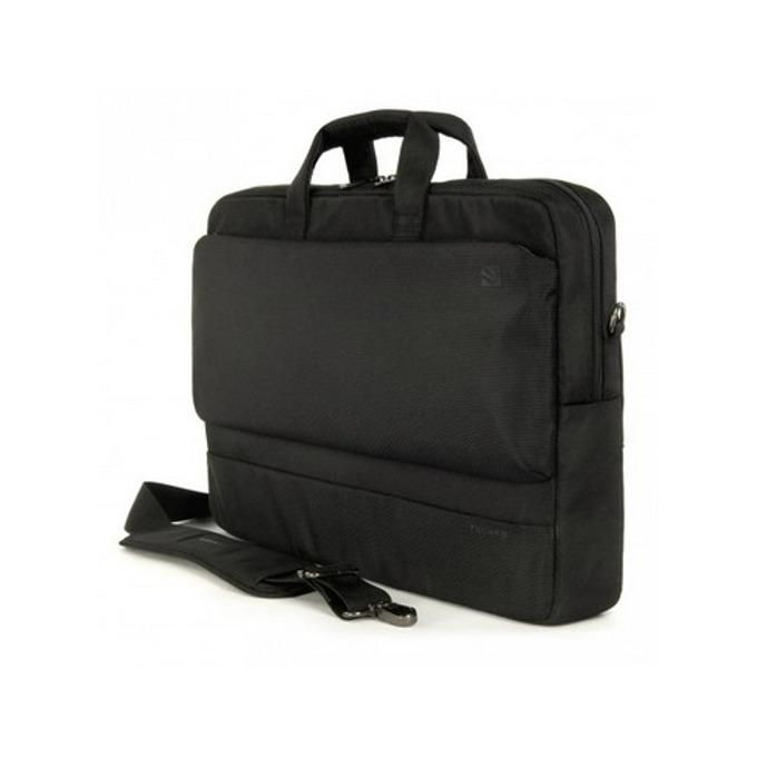 "Чанта за лаптоп и MacBook Pro TUCANO BDR17, серия Dritta Slim, 15""-17""(38.1-43.18cm), черна image"