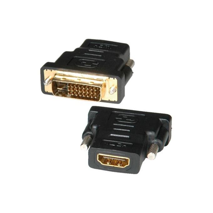 Преходник Roline DVI(м) към HDMI(ж), черен image