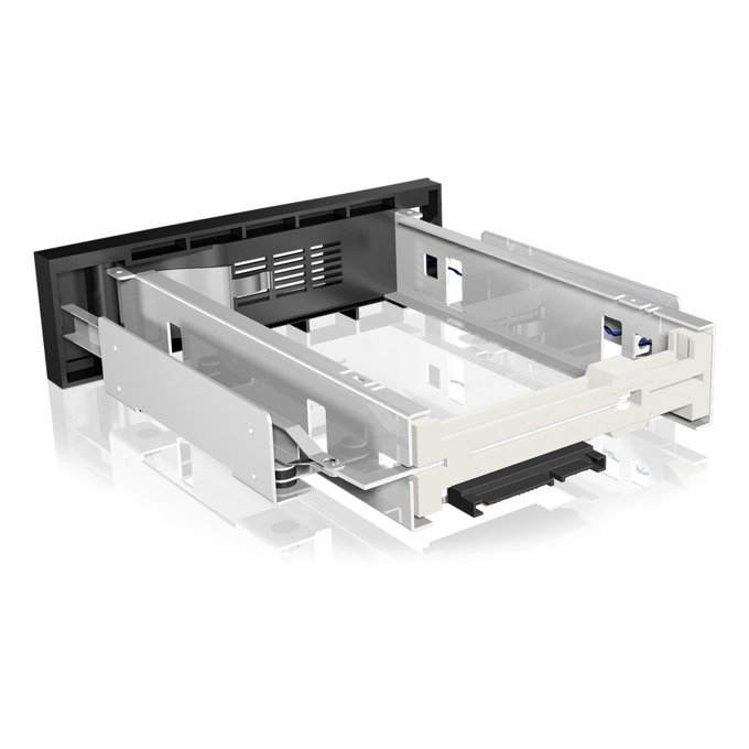 """Кутия 3.5""""(8.89 cm) за вграждане, RaidSonic IB-168SK-B, за 3.5"""" SATA I/II HDD, SATA конектори, черна image"""