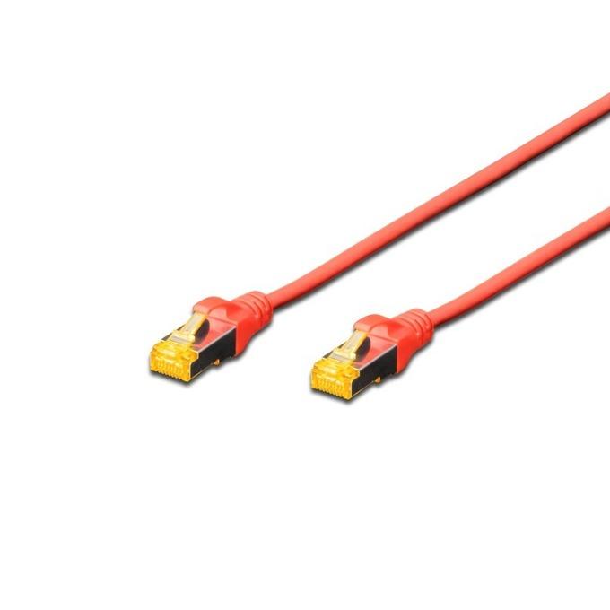 Пач кабел Assmann, SFTP, Cat.6a, 2m, червен image