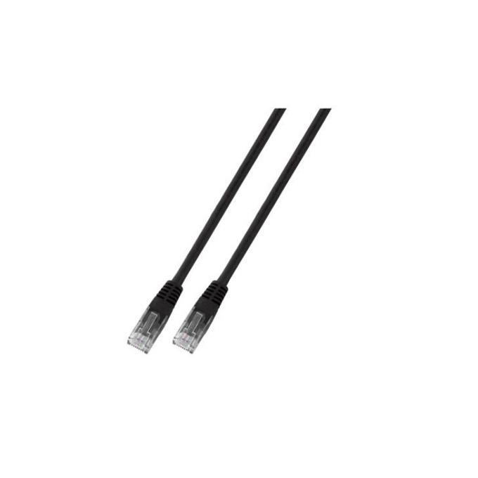 Пач кабел UTP EFB Elektronik, 3m, Cat 5E, черен image