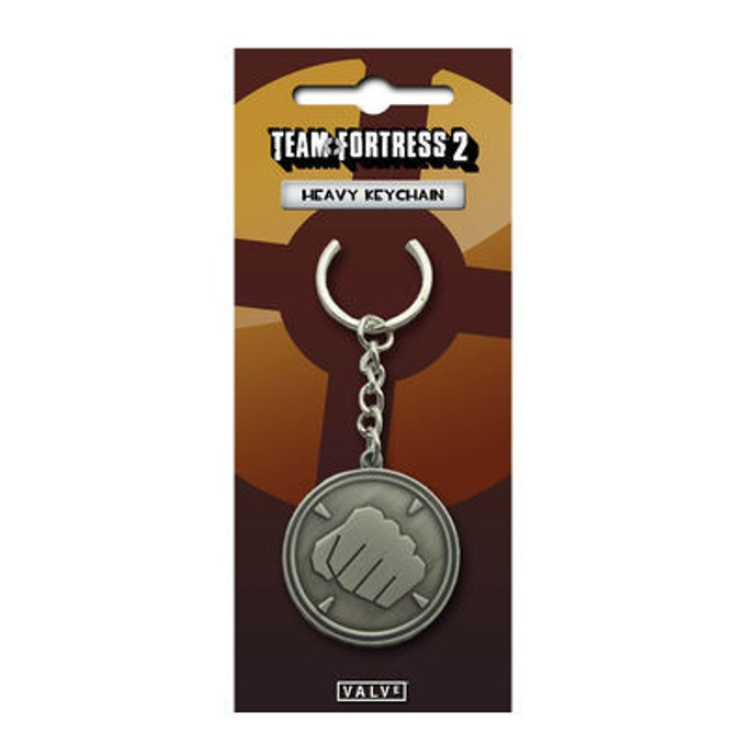 Ключодържател Gaya Team Fortress 2 Heavy, сив image