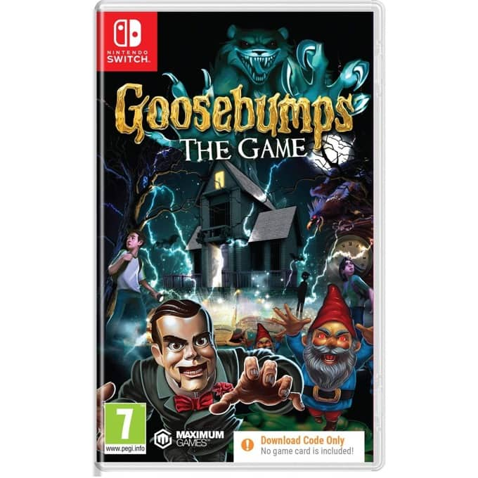 Goosebumps: The Game - Code in a Box Switch product