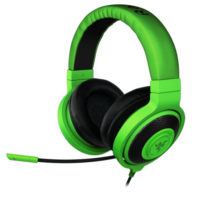 Слушалки Razer Kraken Pro, зелени, микрофон image