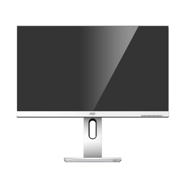 """Монитор AOC 27P1/GR, 27"""" (68.58 cm) IPS панел, FHD, 5ms, 50000000:1, 250cd/m2, VGA, HDMI, DisplayPort, DVI-D, USB image"""