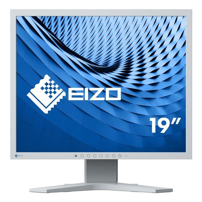 """Монитор EIZO S1934H-GY, 19""""(48.26 см) IPS панел, SXGA, 14ms, 250 cd/m2, DP, DVI image"""