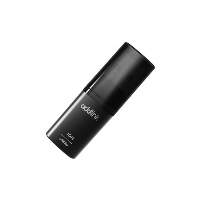Памет 16GB USB Flash Drive, Addlink U55, USB 3.0, сива image