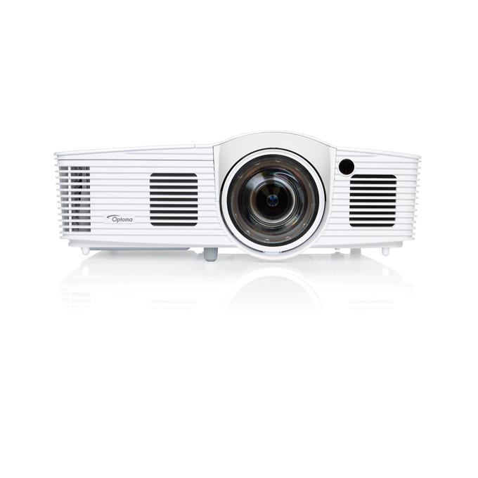 Проектор Optoma EH200ST, 3D, HD, 3000 ANSI Lumens, 1080p 1920 x 1080, 20,000:1, HDMI, късофокусен  image