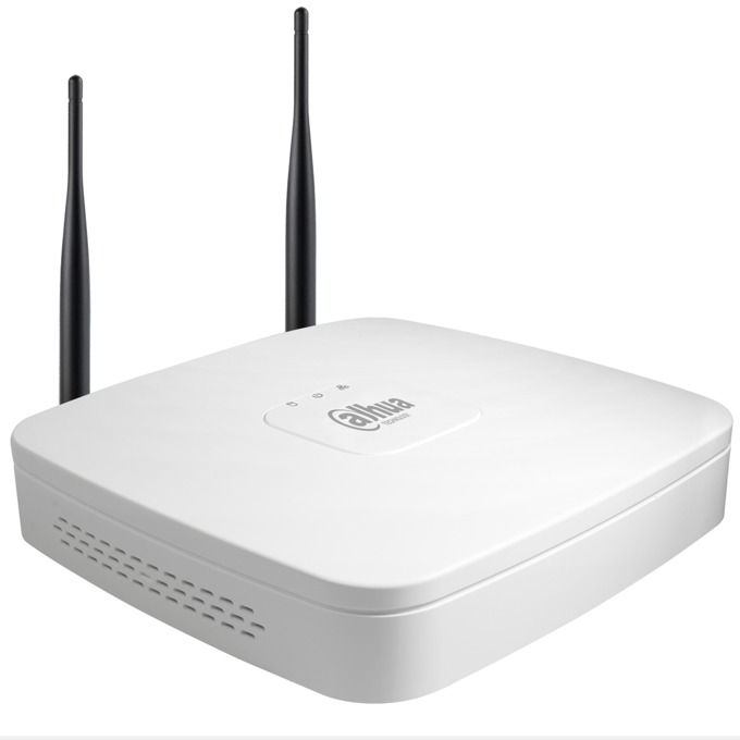 Видеорекордер NVR, Dahua NVR4104-W, 4 канала, 1x RJ45, 2x USB2.0, 1x SATA HDD, WiFi image