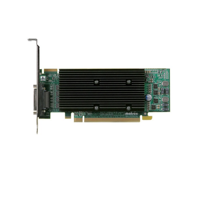 Видео карта Matrox M9140 LP, 512MB, PCI-E, DDR2, 4x DVI, DisplayPort image