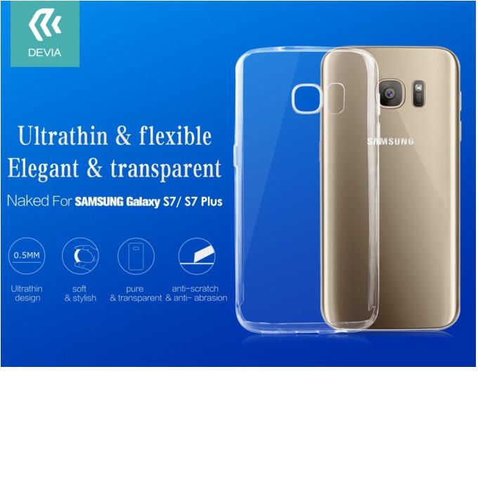Термополиуретанов калъф Devia Naked Case, Galaxy S7, прозрачен image
