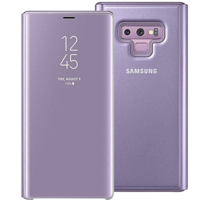 Калъф за Samsung Note 9 N960 Clear View Standing, виолетов image