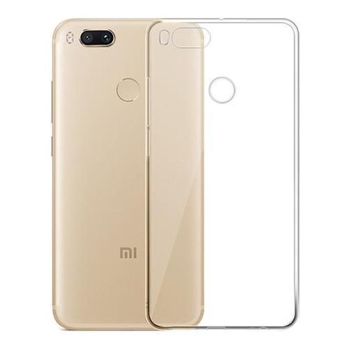 Калъф Xiaomi Mi A1, страничен протектор с гръб, термополиуретанов, Devia Naked, прозрачен image