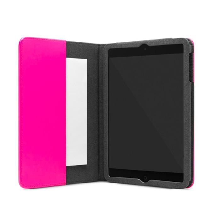Калъф Incase Folio, кожен, с микрофибърна подплата, за iPad Mini 2/3, розов image