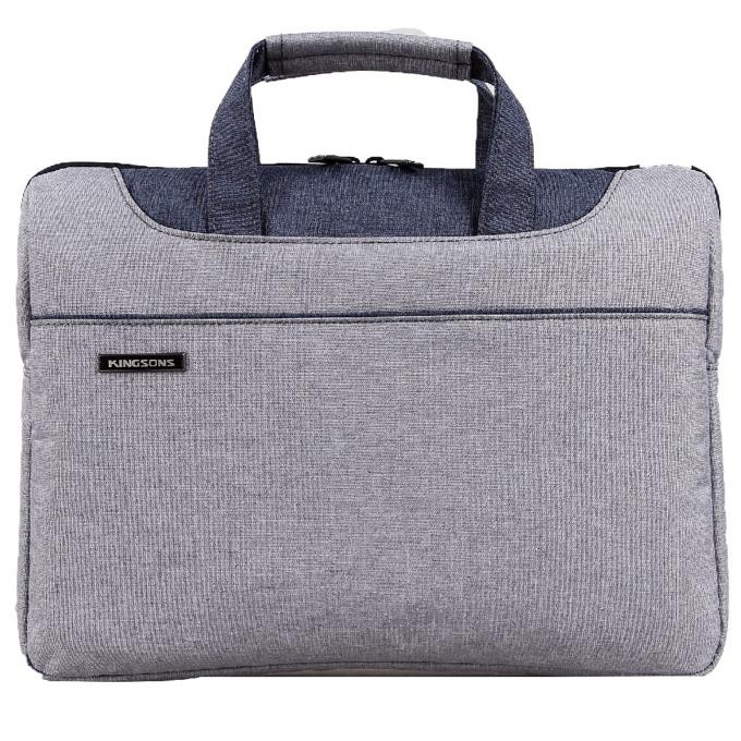"Чанта за лаптоп Kingsons Concord Series (KS3093W-BG) за лаптопи до 13.3""(33.78 cm), сива image"