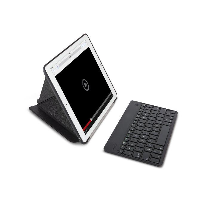 "Калъф за таблет Apple iPad 9.7""(24.64cm), Moshi VersaKeyboard, с клавиатура, Bluetooth, черен image"