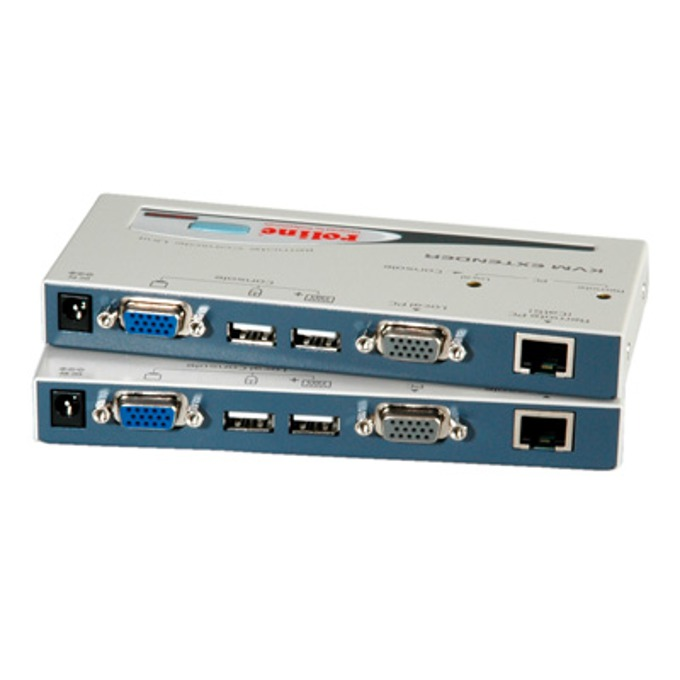 KVM екстендър ROLINE 14.01.3249, Smart, USB image