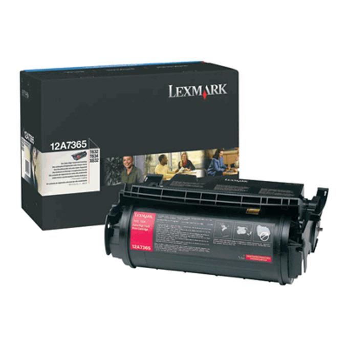 КАСЕТА ЗА LEXMARK OPTRA T 632/634 - Return program cartridge - P№ 12A7465 - заб.: 32000k image