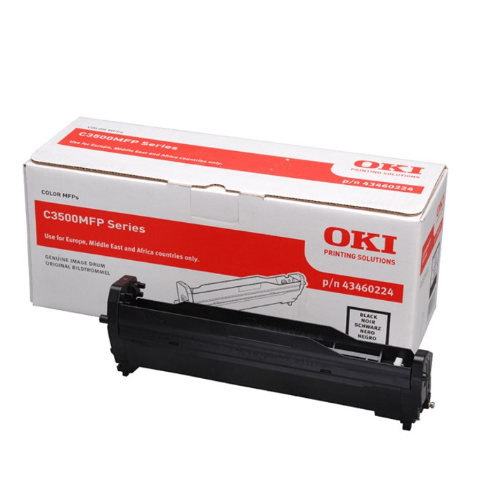 Drum Unit ЗА OKI C 3520/3530/MC 350/360 - Black - P№ 43460224 - заб.: 15000k image
