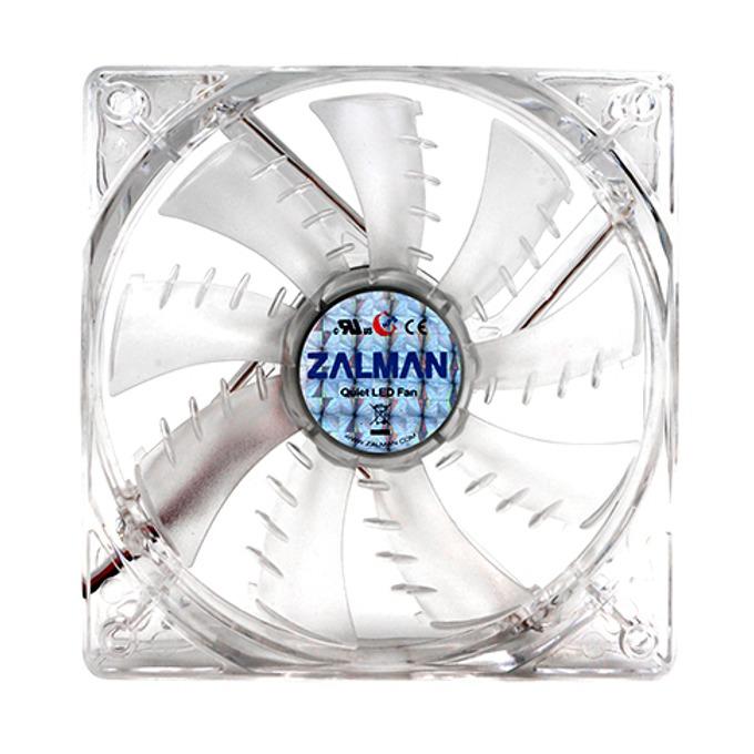 Вентилатор 92mm Zalman ZM-F2 LED(SF), 3-pin, 1500 rpm, синя LED подсветка image