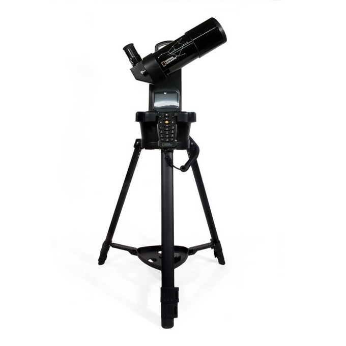 Телескоп Bresser National Geographic 70/350 GOTO, 70mm рефлектор, 17,5–35x оптично увеличение image