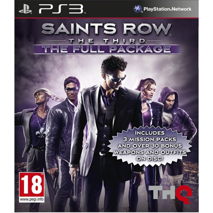 Saint's Row: The Third - The Full Package, за PlayStation 3 image