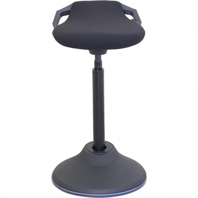 Работен стол Flexiwork R08G, полиуретанова пяна, дамаска, до 130кг., черен image