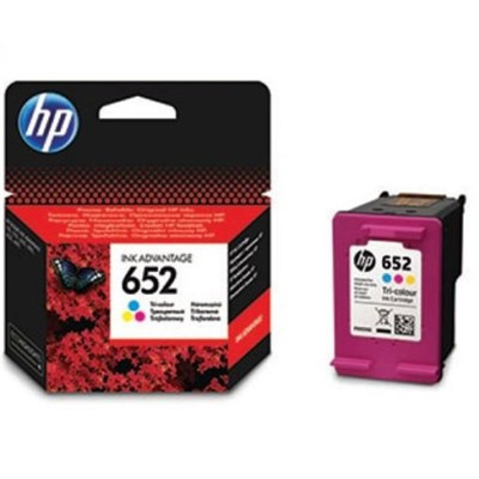HP 652 Tri-colour Ink Cartridge