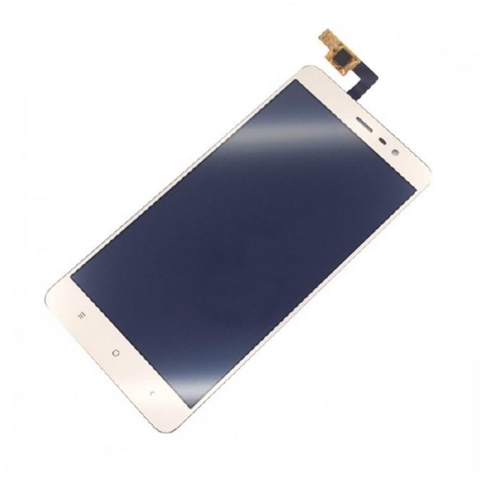 Дисплей за Xiaomi Redmi Note 3, LCD, с тъч, бял image