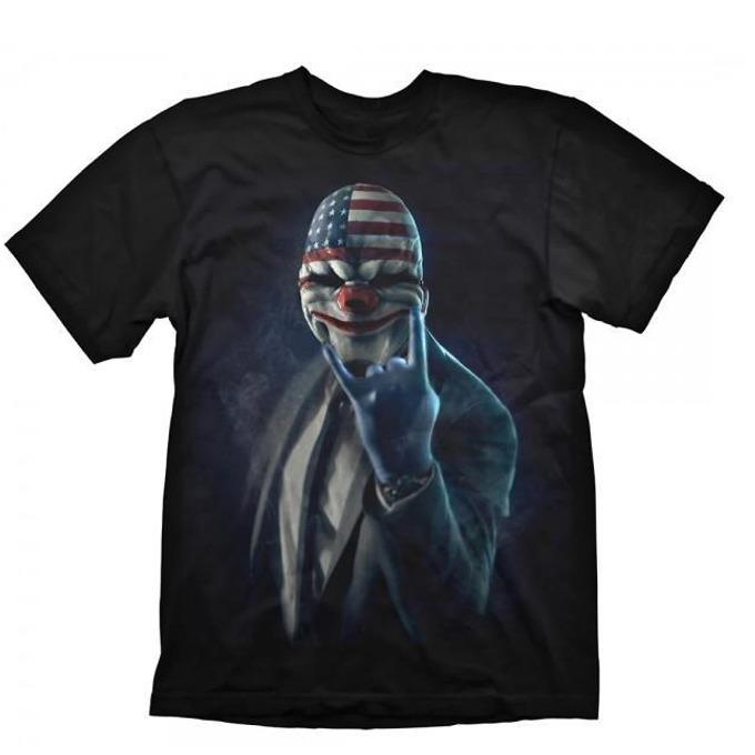 Тениска Gaya Entertainment Payday 2 Rock On, размер L, черна image