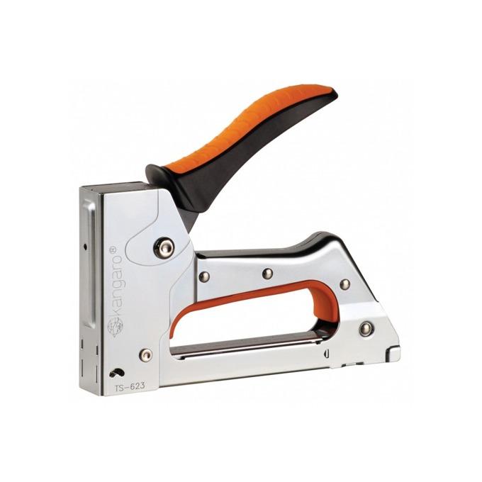 Такер Kangaro TS623, с ергономичка дръжка за по-голям комфорт, сребрист image