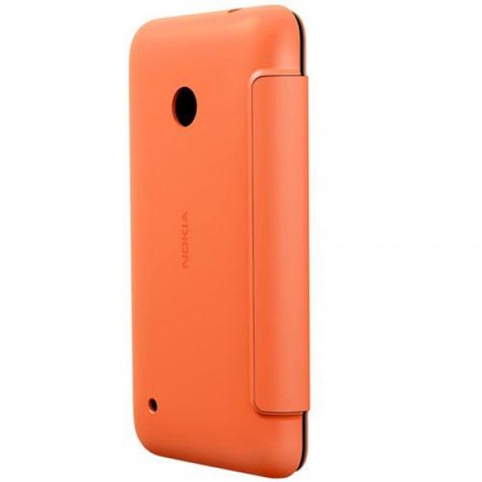 Калъф за Nokia Lumia 530, Flip Cover, CC-3087, оранжев image