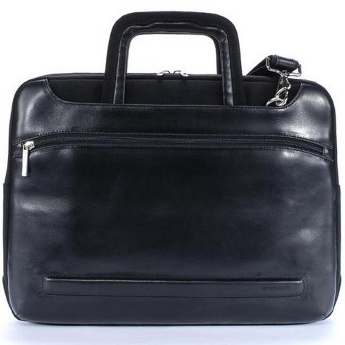 """Чанта за лаптоп, TUCANO Opera Workout, 15.4""""(39.12cm), кожена, черна image"""