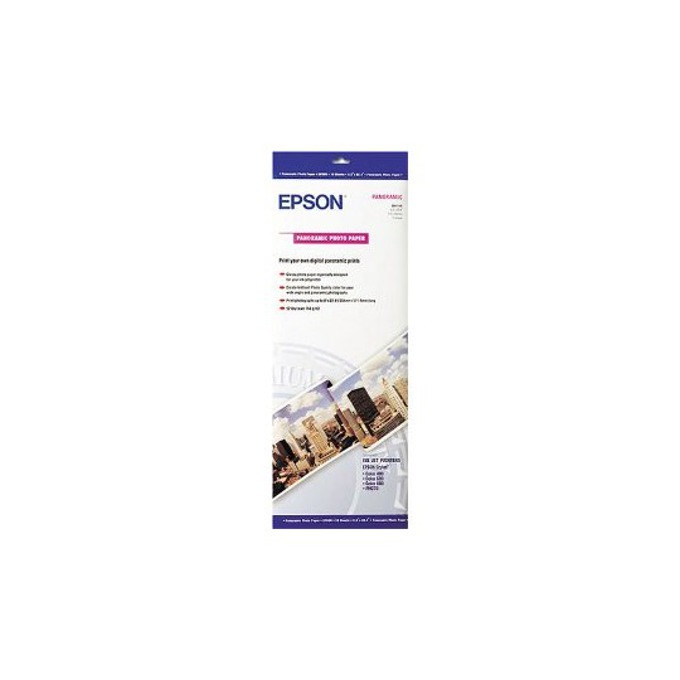 Фотохартия Epson Panoramic, 210x594 mm, гланцирана, 194 g/m2, 10 листа  image