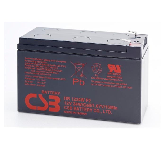 Акумулаторна батерия CSB, 12V, 9Ah